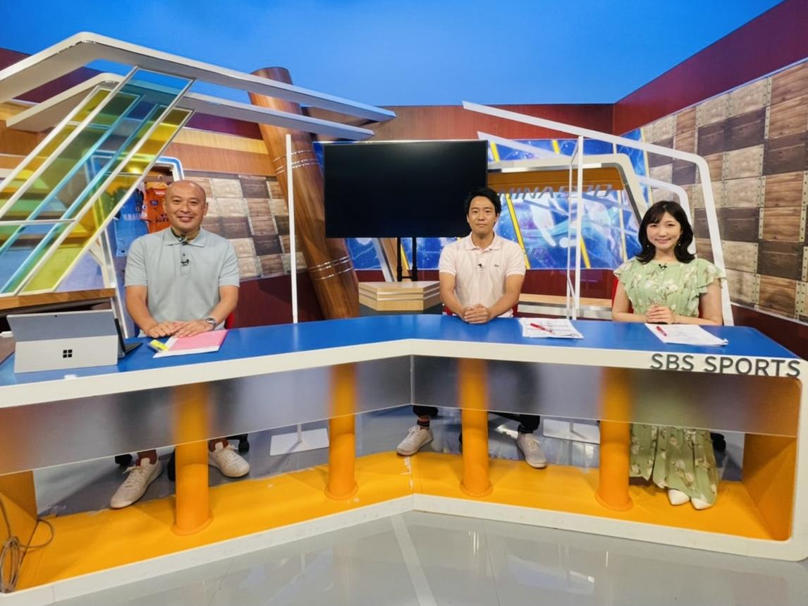 出演情報 10/16(土)17:00~ SBSテレビ「みなスポ」